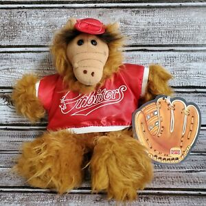 "Vintage 1988 Burger King Promotion Alien Alf ORBITERS Baseball 12"" Hand Puppet"
