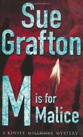 M Is for Malice By Sue Grafton. 9780330348768