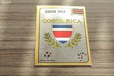 Sticker écusson autocollant 1990 Panini ITALIA 90 Foot ♦ badge n°82 COSTA RICA