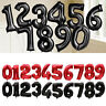 1PC Number 0-9 Aluminum Foil Balloon Red Black Birthday Wedding Party Decor 32''