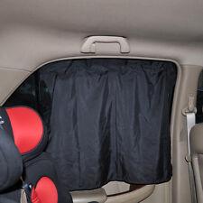 2x Protection Car SunShade Window Curtain With Suckers Car Screen Solar