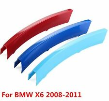 **NEU** TOP! BMW X6 X6M E71 2008-2011 Performance Streifen Niere Kühlergrill