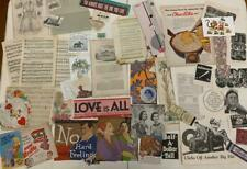 SUPERLATIVE JUNK JOURNAL LOT OF PREMIUM ORIGINAL EPHEMERA! BEST ON EBAY?