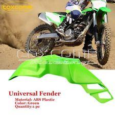 Front Fender Universal for Kawasaki KLX250S KLX300 KLX300R KLX250S KLX400 Green