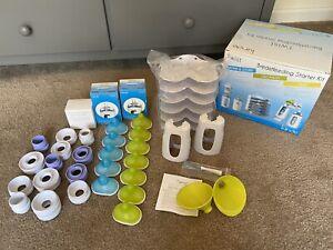 kiinde twist breastfeeding starter kit PLUS 12 Extra Nipples