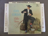 CLIFFIE STONE COOL COWBOY EARLY STEREO LP IN SHRINK ST 1230