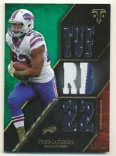 2014 Topps Triple Threads Relics Emerald #TTR185 Fred Jackson Jersey /18