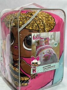 L.O.L. Surprise! Twin Glitterful Comforter