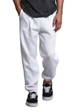 New Men's GYM Workout Basic Elastic Cuff Fleece Sweatpants Small-5xl - HILLSP