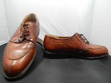 Vintage(?) Men's Urban Trends Brown Leather Shoes Size 10; Made in Italy