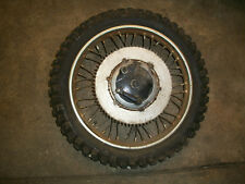 BSA Rear Wheel Rim & Hub WM 2-17 250cc C15 1960 98