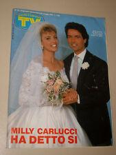 TV SORRISI CANZONI=1985/18=MILLY CARLUCCI=ROMINA POWER=ARTURO BRACHETTI=DRIVE IN