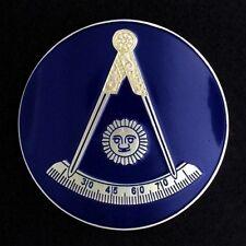 Masonic Past Master Car Auto Emblem (CA/KY/NY) PMA-1