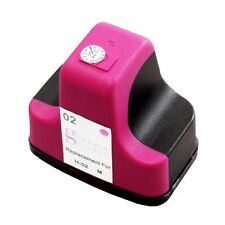 1 Magenta Ink Cartridge for HP 02 Photosmart C7250 C6100 D7160 C6180 3210 C7180