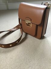 Michael Kors Sloan Editor leather messenger bag Brown