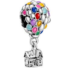 PANDORA Disney Charm Dangle 798962 C01 Up Oben Baloon Ballon Silber Bead
