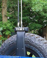 Dual rear Antenna & CB Radio MOUNTING Kit ~ fits: 2007-2017 Jeep JK Wrangler