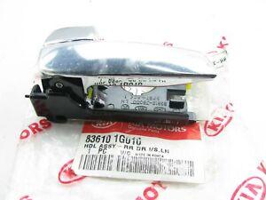 New OEM Rear Left Side Door CHROME Inside Handle For 06-11 Kia Rio 836101G010
