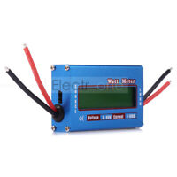 100A 60V Watt Meter DC RC Helicopter Airplane Battery Power Analyzer Balancer