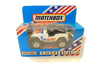 1983 MATCHBOX AMERICAN EDITIONS JEEP 4x4 Made in China - NEW in BOX (658)