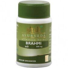 10X Sri Sri Ayurveda Brahmi Tablet For Memory Improvement 60 Tablets