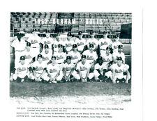 1962 DURHAM BULLS 8X10 TEAM PHOTO BASEBALL SOUTH CAROLINA RUSTY STAUB