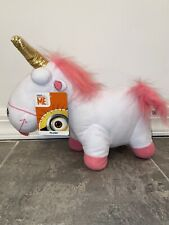 """14"""" Toy Factory Dispicable Me Unicorn FLUFFY Stuffed Plush Doll Minion Movie Kid"""
