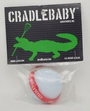 New in Pkg: Cradlebaby Lacrosse Lax Indoor/Outdoor Training tool. Red strap