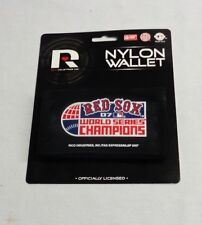 MLB Boston Red Sox 2007 World Series Champions Nylon Tri Fold Wallet FREESHIP