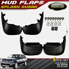 4x Mud Flap Splash Guards for Land Rover Range Rover Sport L494 Series 2014-2016