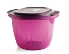 Tupperware Microwave Rice & Pasta Cooker Steamer Large 3L Amethyst Purple New