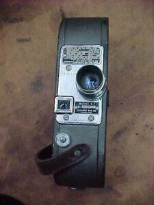 Keystone Mfg Co 16mm Movie Camera Model A-7 with Strap