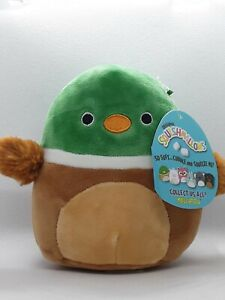 """SQUISHMALLOW ~ Avery the Mallard Duck ~ Plush 5"""" ~ NEW with tag"""
