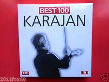 best 100 karajan herbert von karajan mozart beethoven vivaldi verdi 6 CD booklet