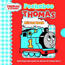 NEW - PEEKABOO THOMAS TANK  - MIRROR BOOK - Thomas the Tank Engine