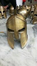 Greek Spartan 300 movie helmet King Leonidas helmet with black plume antique rep
