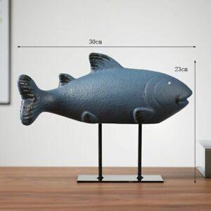 Nordic Simple Style Whale Model Desktop Home Decoration Creative Animal Ornament