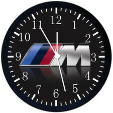 BMW M Black Frame Wall Clock Nice For Decor or Gifts X06