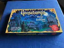 vintage GOOSEBUMPS TERROR IN THE GRAVEYARD BOARD 1995 GAME MILTON BRADLEY 4602