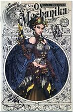 LADY MECHANIKA #0 VARIANT SIGNED by Benitez & Steigerwald SOLD OUT COA HTF NM