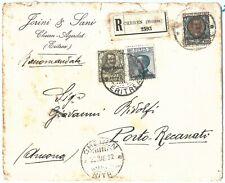 71628 - Colonie ERITREA - Storia Postale -  BUSTA Raccomandata da CHEREN  1922