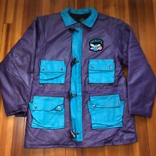 DEADSTOCK Vintage 90's CHARLOTTE HORNETS Genuine Leather Jacket Size XL NBA