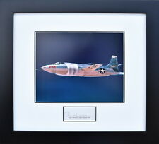 BELL X-1A WITH CHUCK YEAGER - SIGNED - Framed Collectible - Mach 1