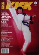 RARE 9/81 KICK JOE LEWIS JEONG SOOK LEE  KARATE KUNG FU BLACK BELT MARTIAL ARTS