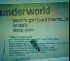 CD album: Underworld: pearl's girl (carp dreams...koi. bmg