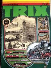 Catalogo TRIX Minitrix 1979-80 scala H0 N - DEU - Tr.13