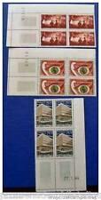 MADAGASCAR francobollo - stamp - yvert et telier n°394 à 396 - Bloc de 4 - n
