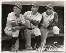 1941 Baseball Wire Photo, Chicago Cubs Charlie Grimm Jimmy Wilson Dick Spalding