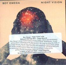 Boy Omega - Night Vision Promo Album (CD 2012) Collectable CD
