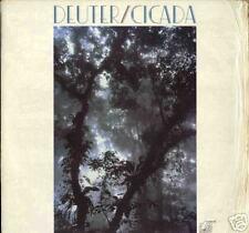 DEUTER  Cicada LP New pioniere della world-music rare